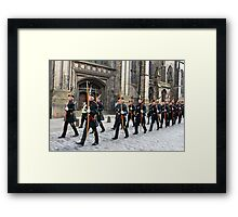 The Royal Company of Archers Framed Print