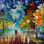 FRESHNESS OF COLD - LEONID AFREMOV by Leonid  Afremov