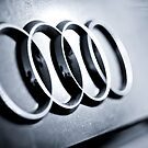 Audi Emblem - Rear by AndrewBerry