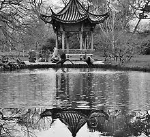 Chinese Pagoda by Astrid Ewing Photography