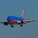 N690SW Southwest Airlines Boeing 737-3G7 by Henry Plumley