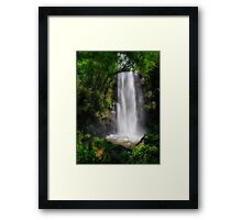 Water Veil Framed Print