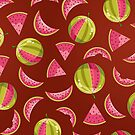 Watermelon Pattern by kotopes