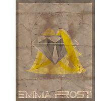 Minimalist Emma Frost Photographic Print