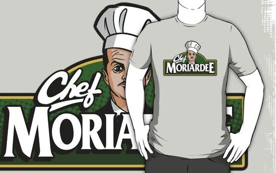 Chef Moriardee by drawsgood