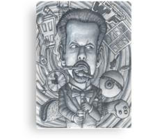 "Little Rock Comedian, Micheal ""Doc"" Davis Canvas Print"