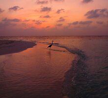enjoying the sunrise by supergold