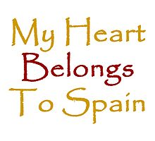 My Heart Belongs To Spain by supernova23