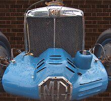 MG K3 by Geoffrey Higges