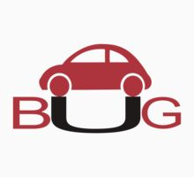 The Love Bug - Vintage cars T-Shirt by Nhan Ngo