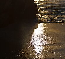The Last Rays Washed Up on the Beach... by GerryMac