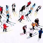 Young Skiers by Ari Salmela