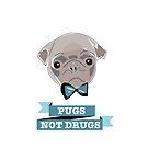Pugs Not Drugs by Elly Hartley