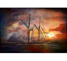 Singing sails...... Photographic Print