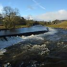 The River Wharfe - Grassington by Kat Simmons