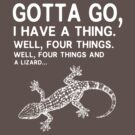 Four things and a lizard by nimbusnought