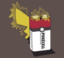Pokecell Pikachu Battery by Rachael Thomas