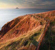 Ailsa craig sunset by Grant Glendinning