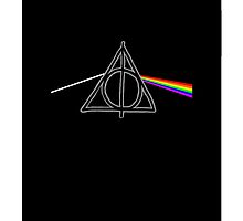 The Dark Side Of The Deathly Hallows (iPhone Case) by GhostGlide