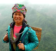 Local Vietnamese girl, Sapa region by mojgan