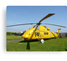 Westland Wessex full view Canvas Print