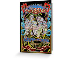 Fraggles - return to the rock tour poster Greeting Card