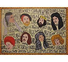 Horrible Histories - Kings and Queens Photographic Print