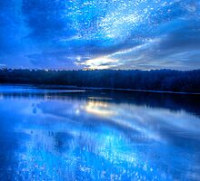 When The Blues of the Night - Narrabeen Lakes Sydney - The HDR Experience by Philip Johnson