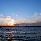 Ludington, Michigan Sunset by North22Gallery