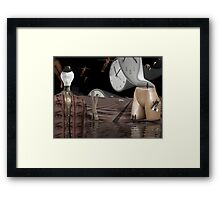 Free spirits defying the global corporate thought police  Framed Print