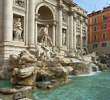 Trevi Fountain, Rome by Tom Gomez