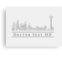 Doctor Sexy MD Canvas Print
