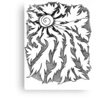 Burning Rays of the Sun Canvas Print