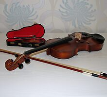 Little and Large - Two Violins by BlueMoonRose