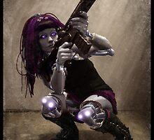 Cybergoth Photography 003 by Ian Sokoliwski