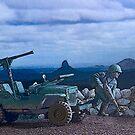 Willys Jeep by Steve  Woodman