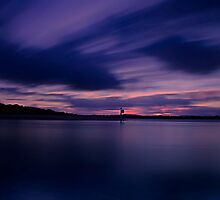 Last Light, Smiths Lake by bazcelt