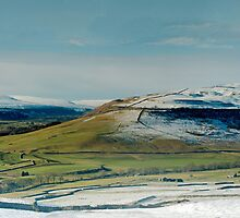 Wharfedale in Winter by Andrew Leighton
