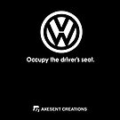 Occypy the drivers seat by axesent