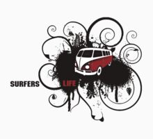 VW Graffiti Surfer life by aaronnaps