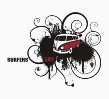 VW Graffiti Surfer life by aaronnaps