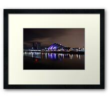 The Clyde auditorium Framed Print