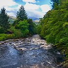 Fishing in Scotland by Glen Allen