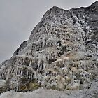 Dorset: Frozen Cliff at Charmouth by Rob Parsons