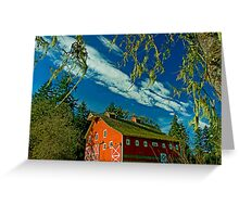 My Red Barn Greeting Card