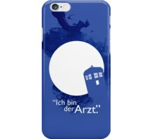 """Ich Bin Der Artz"" Doctor Who iPhone Case iPhone Case/Skin"