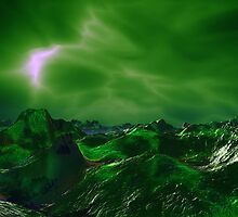 Green Storm Rising by AlienVisitor