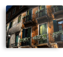 Rooms With A View - Venice, Italy Metal Print