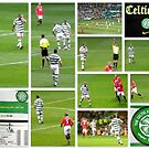 CELTIC FC Legends versus Man Utd Legends by The Creative Minds