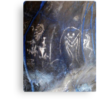 Spirits of the Cave-Hispanic Caribbean Taino Indian Caves Painting Metal Print